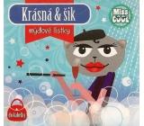 Nekupto Miss Cool Mýdlové lístky Kočka baret Krásná & šik 15 kusů 1 balení QQ 009
