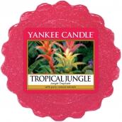 Yankee Candle Tropical Jungle - Tropická džungle vonný vosk do aromalampy 22 g