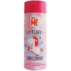 Mimoni Fluffy 2v1 sprchový a koupelový gel 400 ml