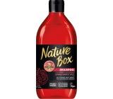 Nature Box Granátové jablko šampon na vlasy 385 ml