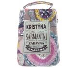 Albi Skládací taška na zip do kabelky se jménem Kristýna 42 x 41 x 11 cm