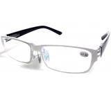 Berkeley Čtecí dioptrické brýle +2,5 plast bílé, černé stranice 1 kus MC2062