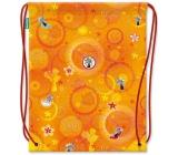 Nekupto Miss Cool Sportovní taška Myška Roztomilá parádnice 41 x 33,5 cm