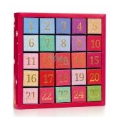 English Tea Shop Bio Adventní kalendář Číselný 25 hedvábných pyramidek, 13 příchutí, dárková sada