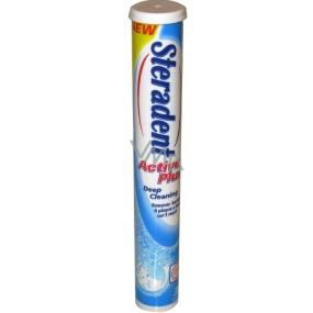 Steradent Active Plus Deep Cleaning tablety na zubní protézy 30 kusů