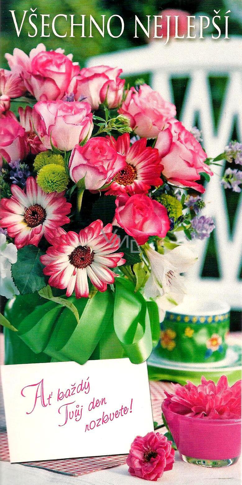 všechno nejlepší k narozeninám prani Nekupto Přání k narozeninám Všechno nejlepší květiny   VMD  všechno nejlepší k narozeninám prani
