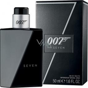 James Bond 007 Seven toaletní voda pro muže 50 ml
