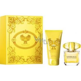 Versace Yellow Diamond toaletní voda 30 ml + tělové mléko 50 ml, dárková sada