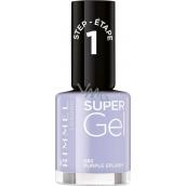 Rimmel London Super Gel lak na nehty 082 Purple Splash 12 ml