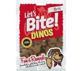 Brit Lets Bite Dinos doplňkové krmivo pro psy 150 g