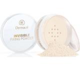 Dermacol Invisible Fixing Powder transparentní fixační pudr White 13,5 g
