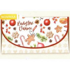 Nekupto Greeting card envelope for money Christmas Gingerbread 116 x 220 mm OJ