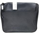 Diva & Nice Kosmetická kabelka černá s kapsičkou 22 x 20 x 10 cm 90153