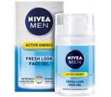Nivea Men Active Energy osvěžující pleťový gel pro muže 50 ml