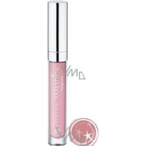 Essence Xxxl Shine Lipgloss lesk na rty 22 Nude Kiss 5 ml