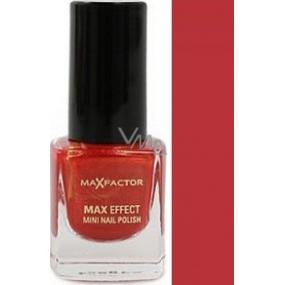 Max Factor Max Effect Mini Nail Polish lak na nehty 10 Deep Coral 4,5 ml
