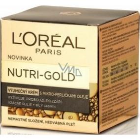 Loreal Paris Nutri-Gold Extraordinary s mikro-perličkami oleje výjimečný krém 50 ml