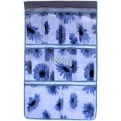 Kapsář do koupelny závěsny 674 modrý 35 x 58 cm