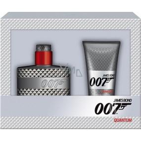 James Bond 007 Quantum toaletní voda pro muže 30 ml + sprchový gel 50 ml dárková sada