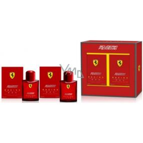 Ferrari Racing Red toaletní voda 75 ml + voda po holení 75 ml, dárková sada