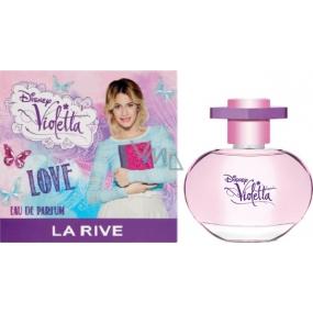 Disney Violetta Love parfémovaná voda pro dívky 50 ml