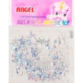 Angel Ozdoby na nehty kousky modré 2 g