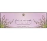 English Soap Anglická Levandule Přírodní parfémované mýdlo s bambuckým máslem 3 x 100 g