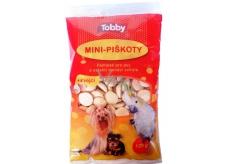 Tobby Piškoty krmné pro psy a ostatní domácí zvířata Mini 120 g