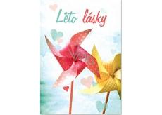Ditipo Hrací přání Summer All Stars, Slza Léto lásky 224 x 157 mm