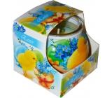 Admit Easter Blue dekorativní aromatická svíčka ve skle 80 g