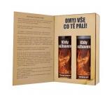 Bohemia Gifts & Cosmetics Pro hasiče sprchový gel 200 mk + šampon na vlasy 200 ml kniha kosmetická sada