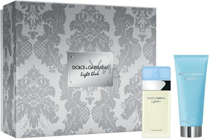 61a62f60 Dolce & Gabbana Light Blue Eau de Toilette 25 ml + Body Lotion 50 ml, gift  set - VMD parfumerie - drogerie