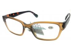 Berkeley Čtecí dioptrické brýle +2,5 plast hnědé 1 kus ER4198