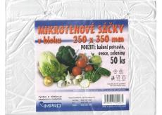 Impro Sáček mikroténový v bloku 250 x 350 x 0,010 mm 50 kusů