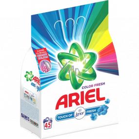 Ariel Touch of Lenor Fresh Color prací prášek na barevné prádlo 45 dávek 3,375 kg