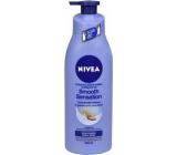 Nivea Smooth Sensation krémové tělové mléko pro suchou pokožku s pumpičkou 400 ml