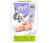 Bella Happy Baby Hygienické podložky 90 x 60 cm 5 kusů