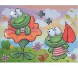Magické malování vodou se štětcem Žabky 20 x 15 cm