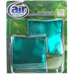 Air Menline Deo Picture Non Stop Elegant Nature Wonder gelový osvěžovač vzduchu náhradní náplň 2 x 8 g
