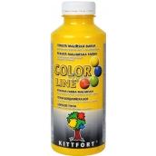 Kittfort Color Line tekutá malířská barva Žlutá 500 g
