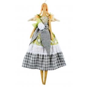 Andělka látková limetková 47 cm
