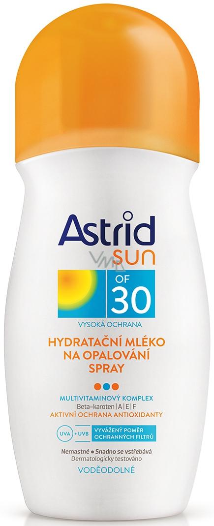 Astrid Sun OF30 hydratační mléko na opalování 200 ml sprej