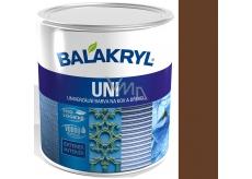 Balakryl Uni Mat 0245 Tmavě hnědý univerzální barva na kov a dřevo 700 g