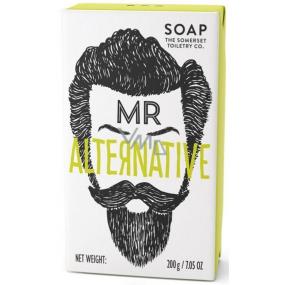 Somerset Toiletry Pan alternativní luxusní toaletní mýdlo s bambuckým máslem a exotickou vůní cedrového dřeva a citrónové trávy pro muže 200 g