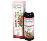 Dr. Popov Klimakterium originální bylinné kapky přispívají k hormonální rovnováze, pro udržení komfortu v období menopauzy 50 ml