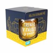 Albi Půllitr fotbalový míč Trenér v záloze 500 ml