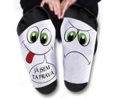 Nekupto Rodinné dárky s humorem Ponožky Jsem ta pravá, velikost 39-42 WZ 001
