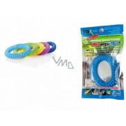 Trixline Mosquito Repelentní náramek - gumička proti komárům Citronela 1 kus, TR 249 náhodný výběr barvy