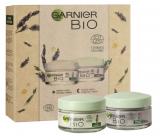 Garnier Bio Lavandin denní krém proti vráskám 50 ml + Bio Lavandin noční krém proti vráskám 50 ml, kosmetická sada
