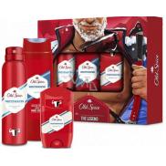 Old Spice White Water Alpinist antiperspirant deodorant stick 50 ml + deodorant sprej 150 ml + 2v1 sprchový gel na tělo a vlasy 250 ml, kosmetická sada pro muže